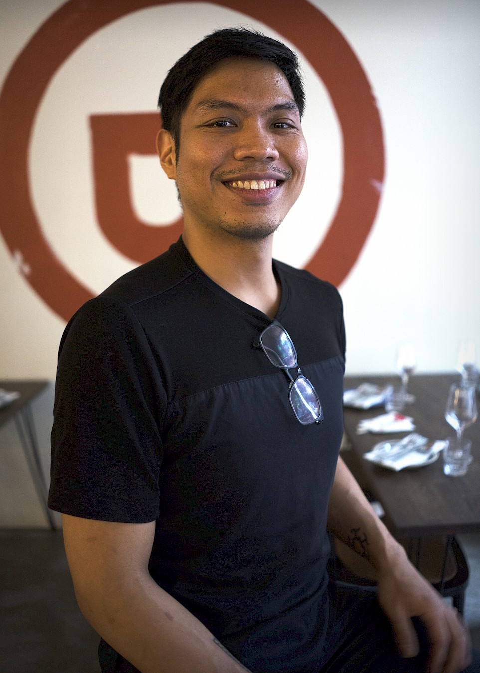 "Dwight a.k.a ""Head Paisano"", Filipino restaurant Paisano"